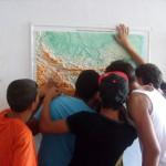 След урока следва тръсене на основния споменат град или местност на съвременната ни карта.