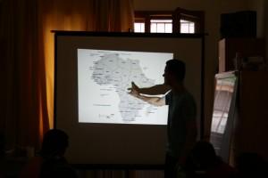 Веселин Кисьов преподава урок за Африка