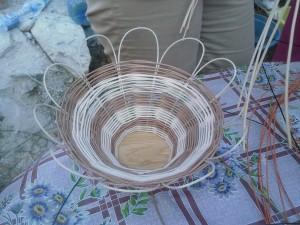Кошничка от ратан