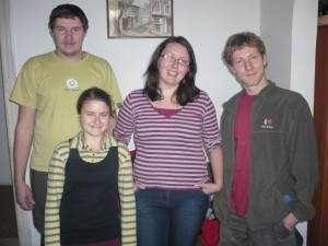 Доброволците: Томаш, Вероника, Ханка и Ярослав