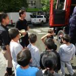 Посещение на пожарната служба