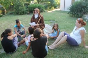 Летен лагер за момичета от ромския квартал на Стара Загора