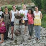 Летен лагер за момичета роми 2014